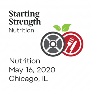 starting strength nutrition camp chicago