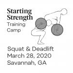 starting strength training camp squat deadlift georgia