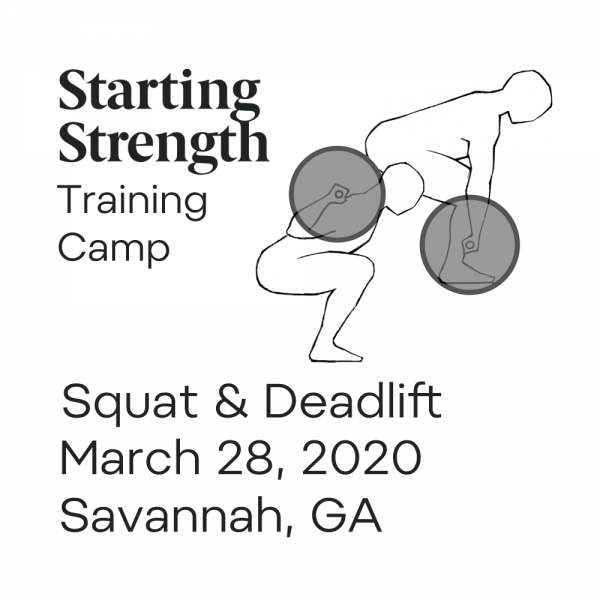 starting strength training camp squat deadlift georgia