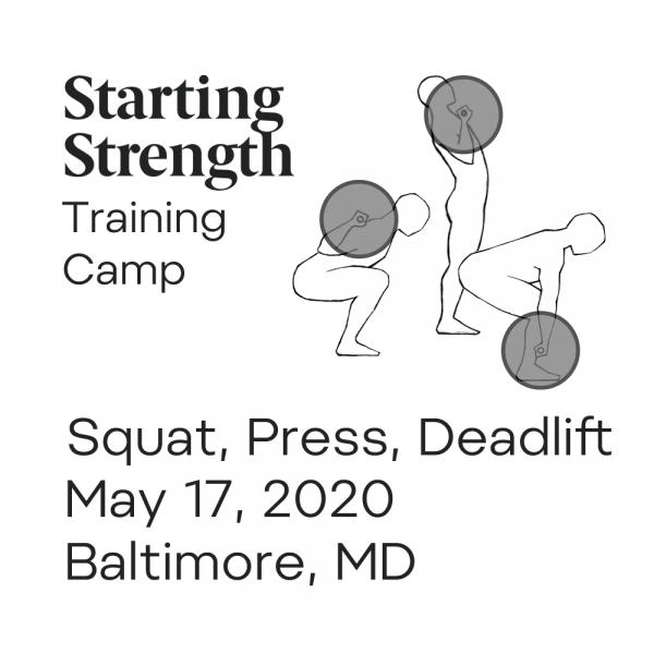 starting strength training camp baltimore