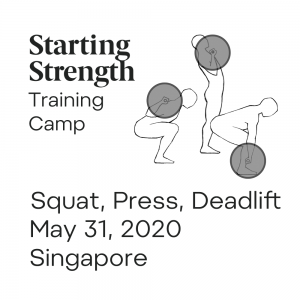 starting strength training camp singapore