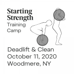 starting strength deadlift clean camp