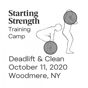 starting strength deadlift clean camp