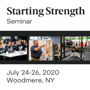 starting strength seminar woodmere new york july