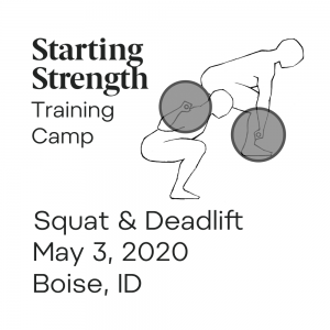 starting strength training camp idaho