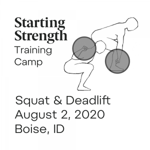 starting strength training camp boise idaho