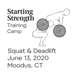 starting strength training camp moodus ct