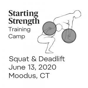 starting strength training camp moodus ct
