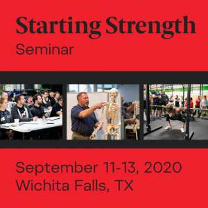 starting strength seminar texas