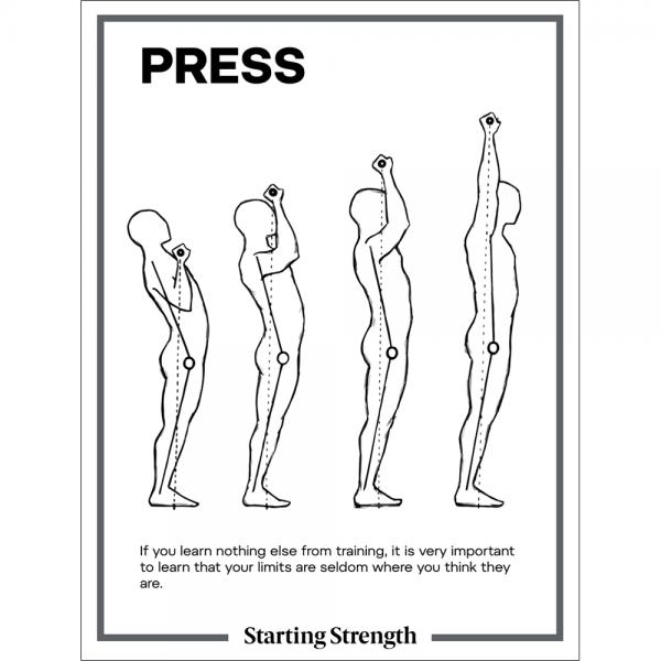 poster starting strength press