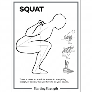 poster starting strength squat