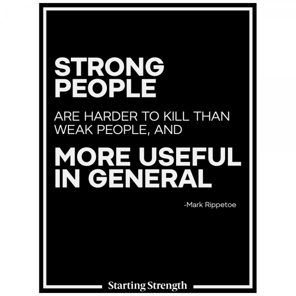 poster starting strength strong people