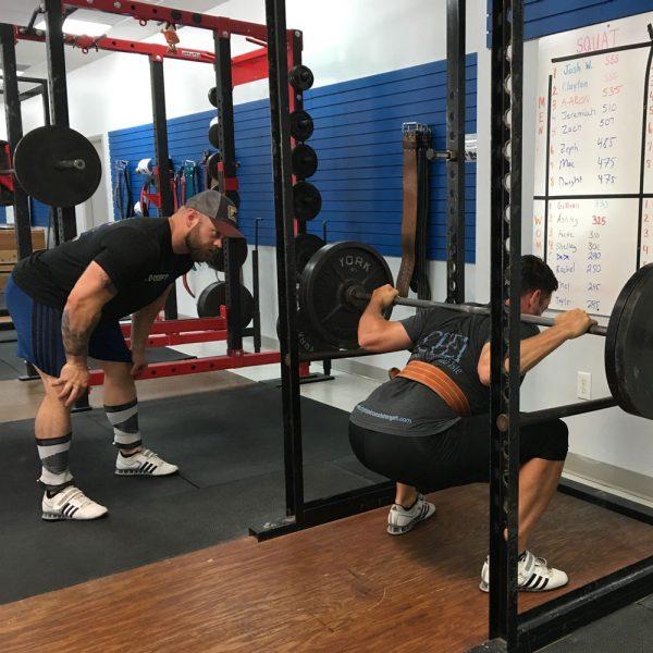 josh wells coaching the squat