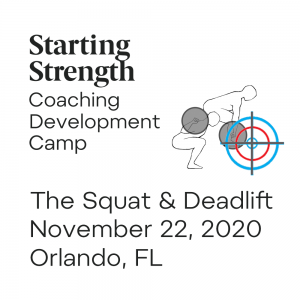 coaching development camp squat deadlift
