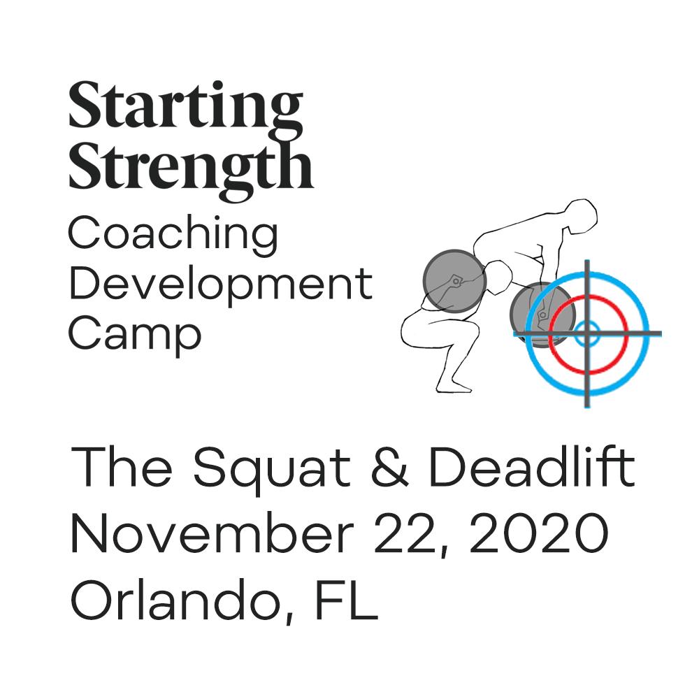 coaching development camp squat deadlift