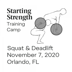 starting strength squat and deadlift camp orlando florida