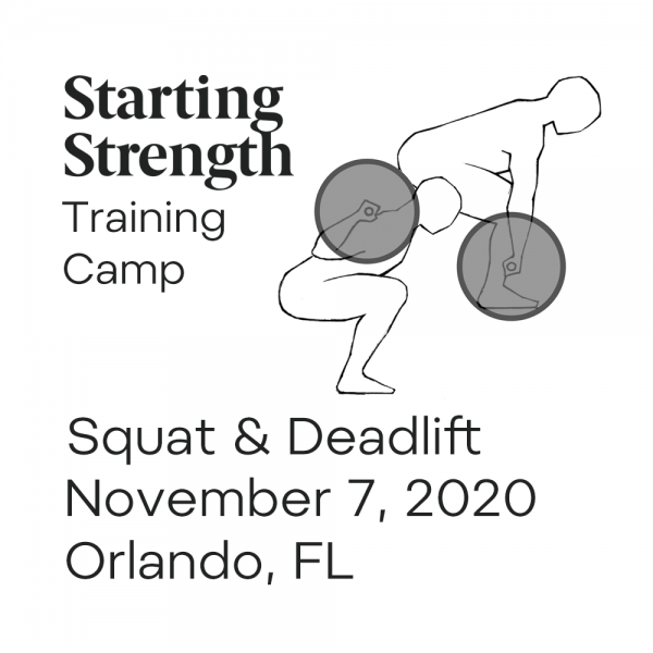 starting strength squat and deadlift camp orlando florida