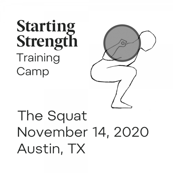 starting strength training camp the squat