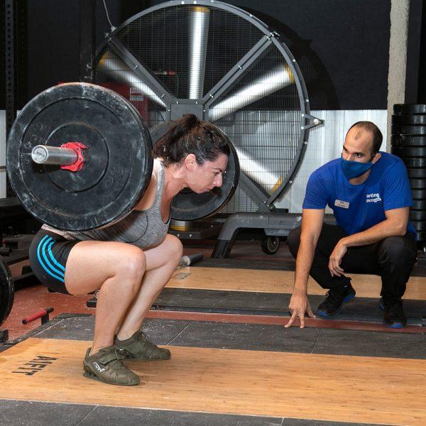 zohar coaches the squat
