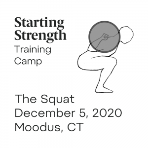 starting strength squat training camp