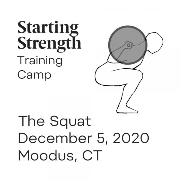 starting strength squat training camp