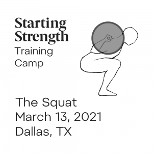 starting strength squat training camp dallas