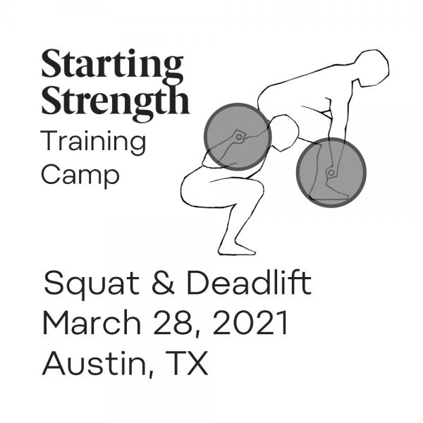 starting strength squat deadlift camp austin texas