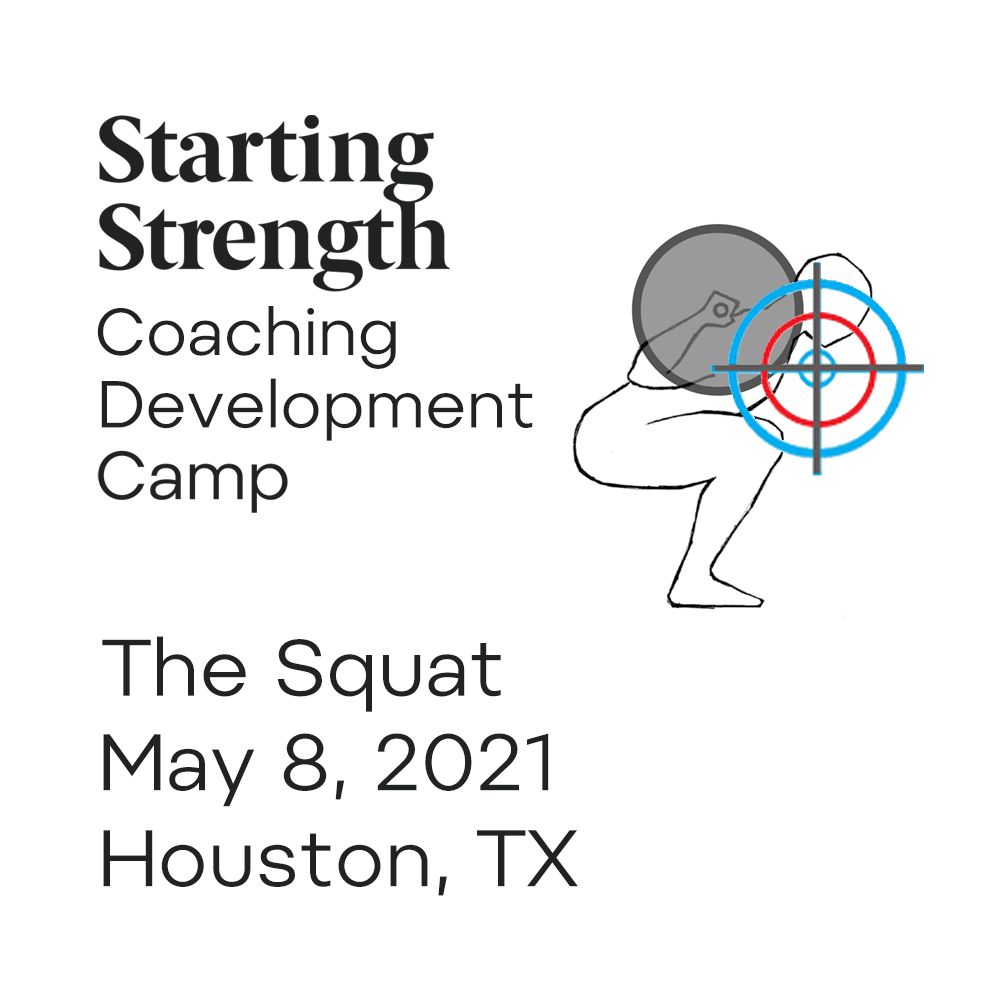 starting strength coach development camp