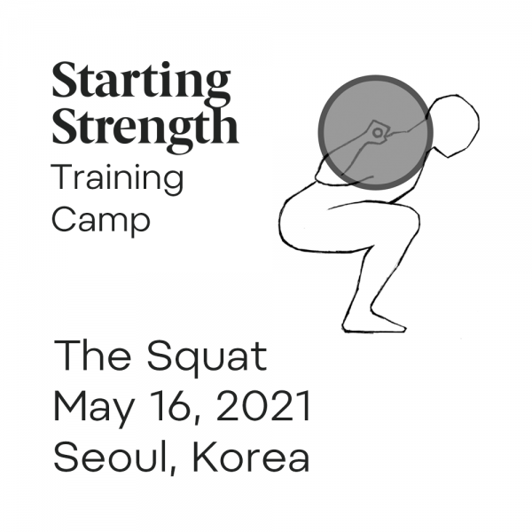 starting strength training camp squat korea