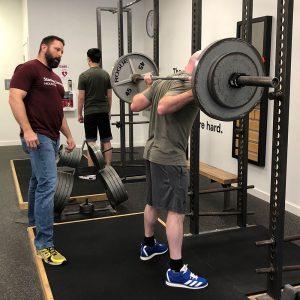 jd shipley coaching the squat