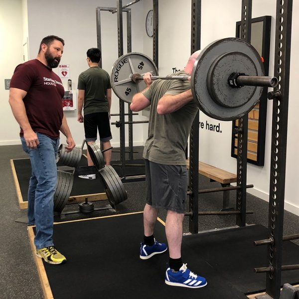 jd shipley coaching the squat