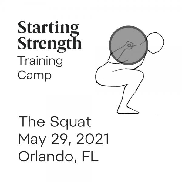 starting strength training camp the squat orlando florida