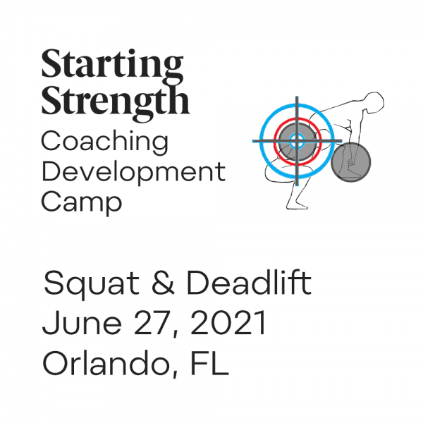 squat deadlift coaching development camp