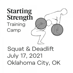 starting strength squat and deadlift camp