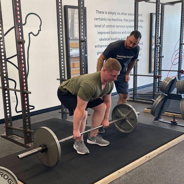 mark diffley coaching the deadlift