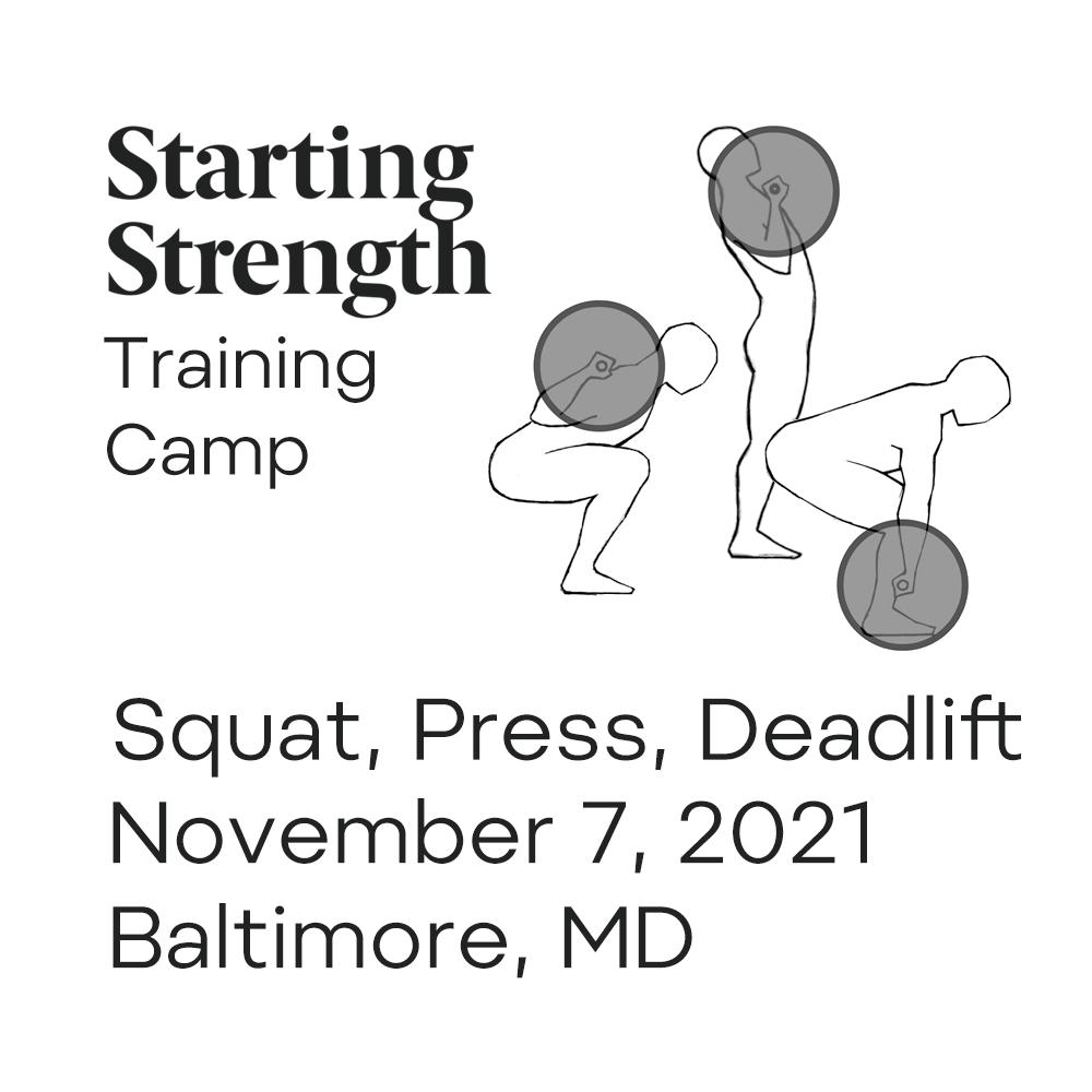 starting strength training camp maryland