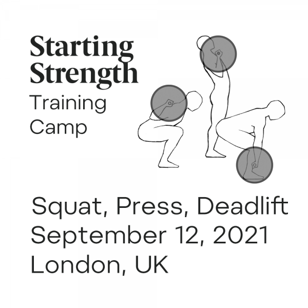 starting strength training camp london UK