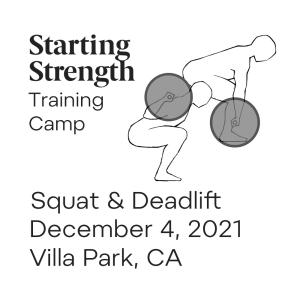 starting strength training camp villa park california